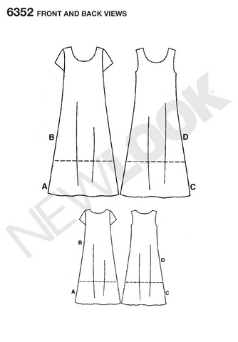 NL6352 Misses Dress | Easy
