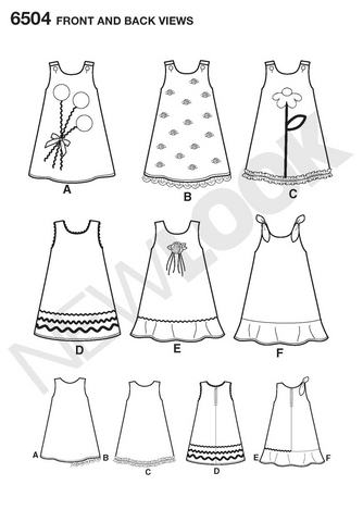 NL6504 Child Dress | Easy