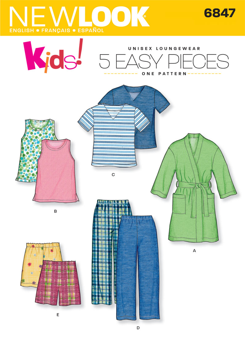 NL6847 Children's Sleepwear | Easy