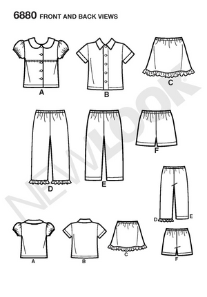 New Look 6880 Sewing Pattern