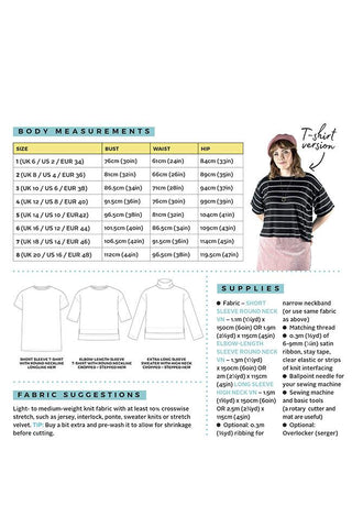 Tilly & The Buttons NORA Sewing Pattern