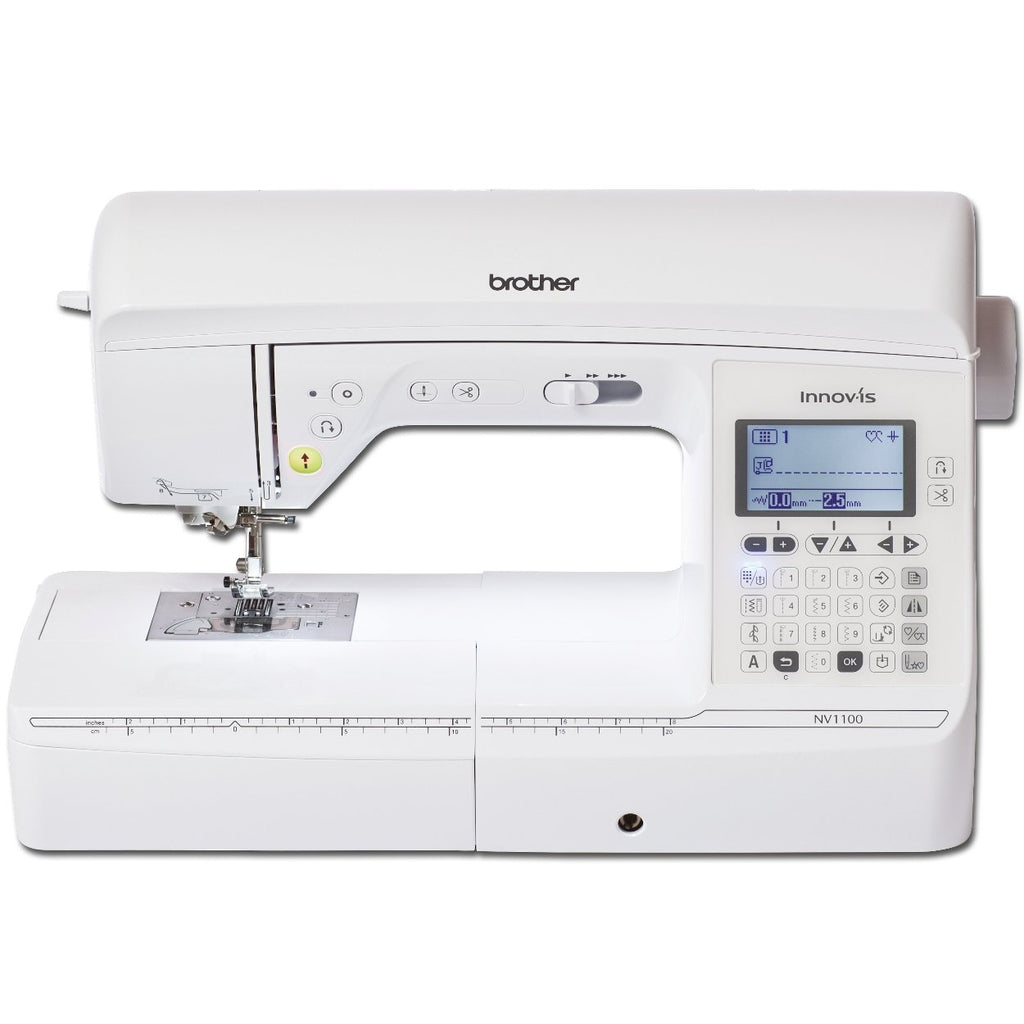 Brother Innov-is 1100 sewing machine from Jaycotts Sewing Supplies