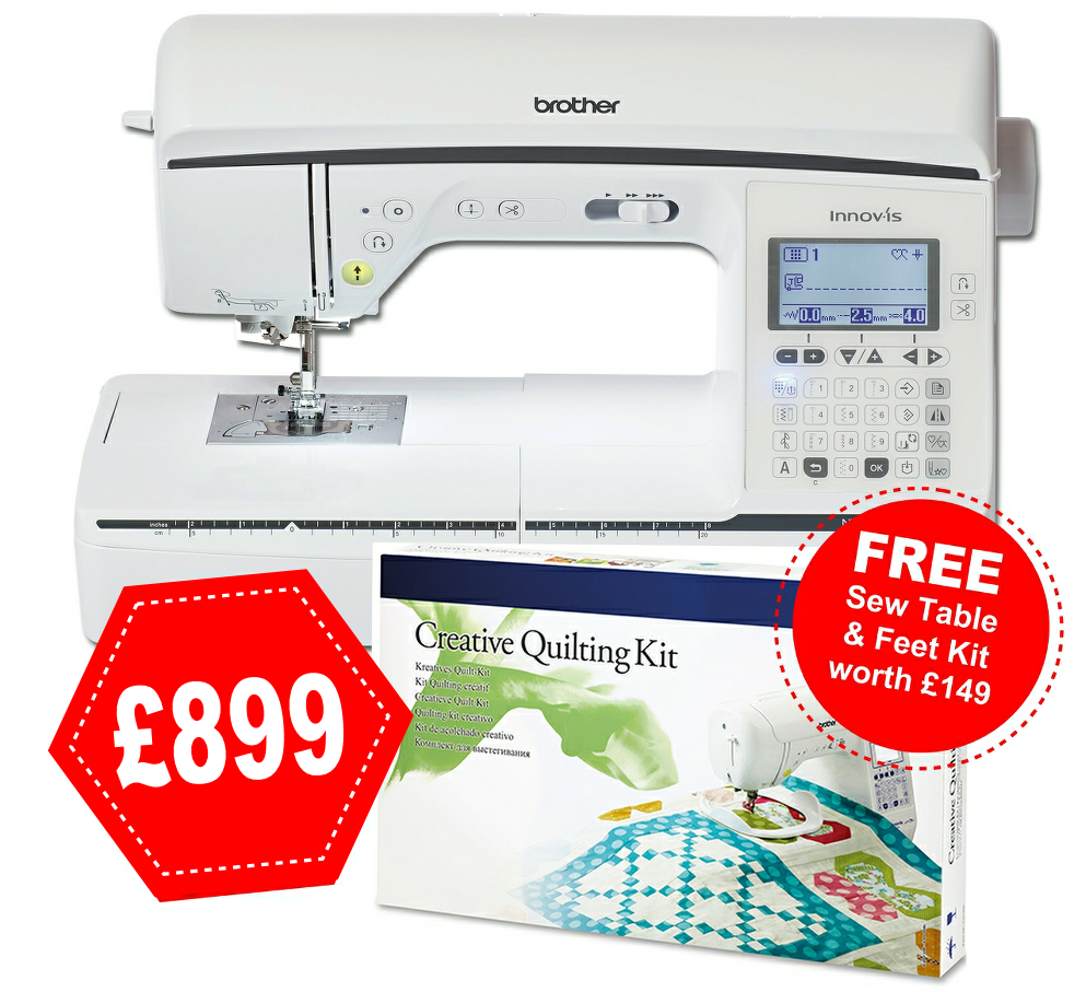 Brother Innov-is 1300 + free kit worth £149 !