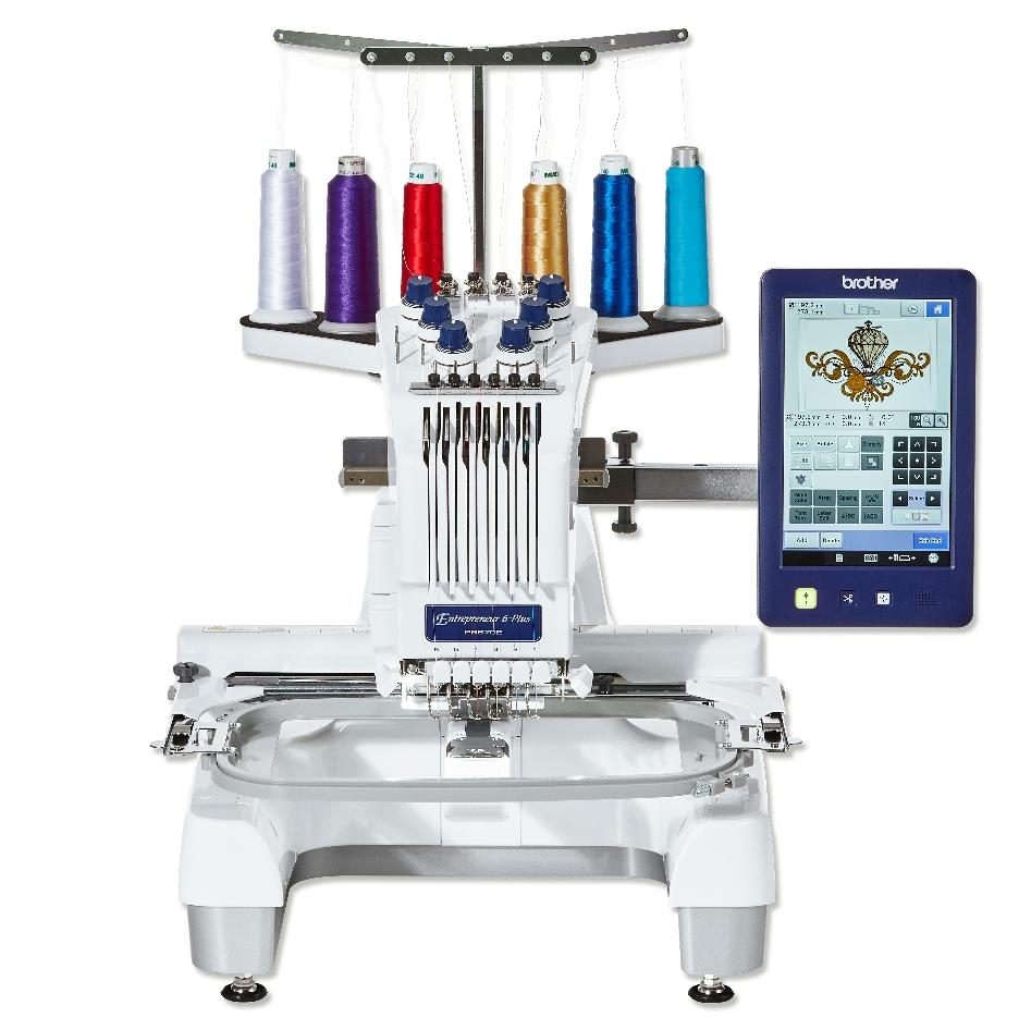 Brother PR670E 6 needle embroidery machine - ex-display offer save £750