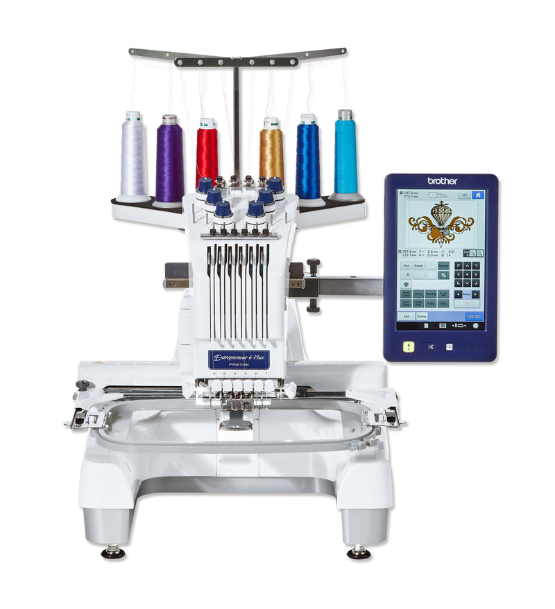 Brother PR670E professional 6 needle embroidery machine