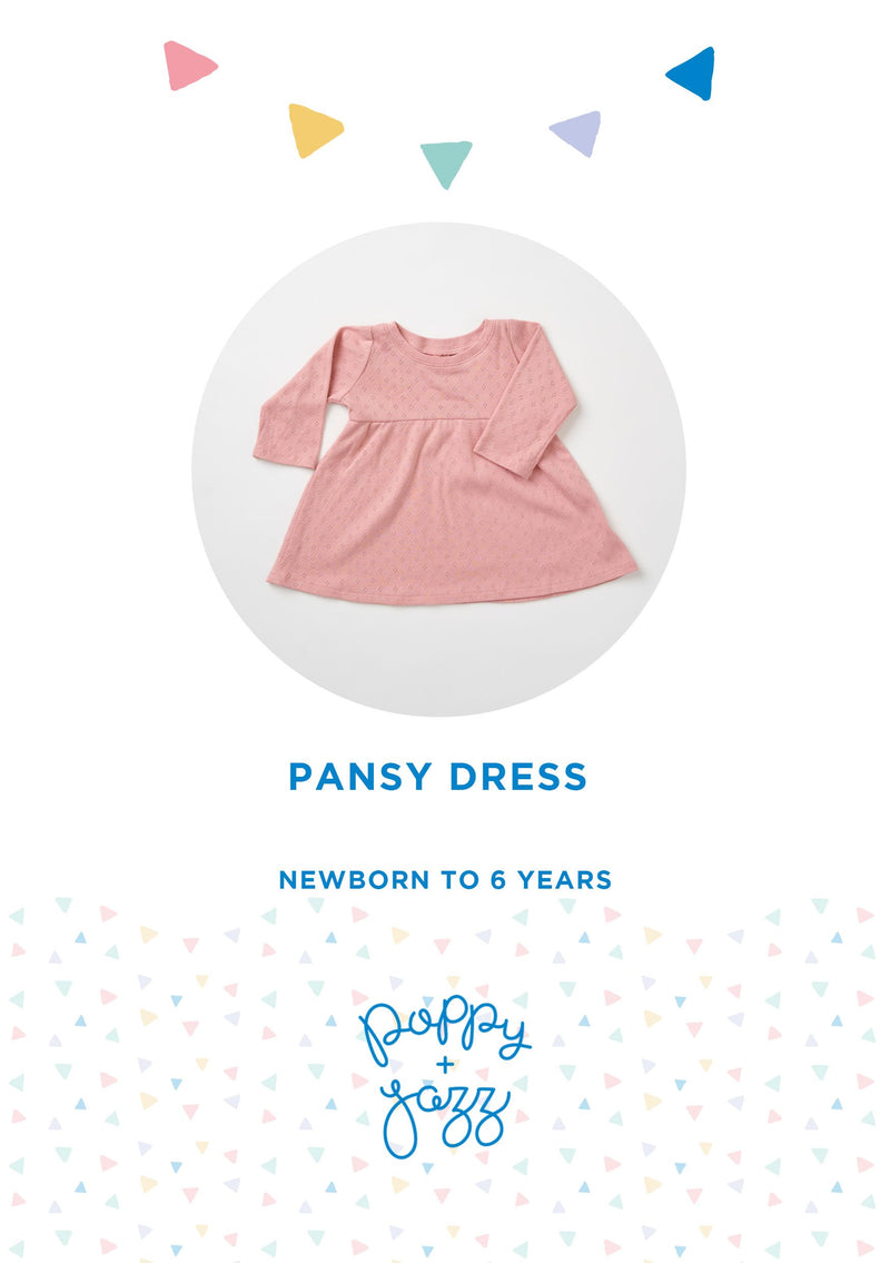 Sew Over It Poppy + Jazz | Pansy Dress Pattern