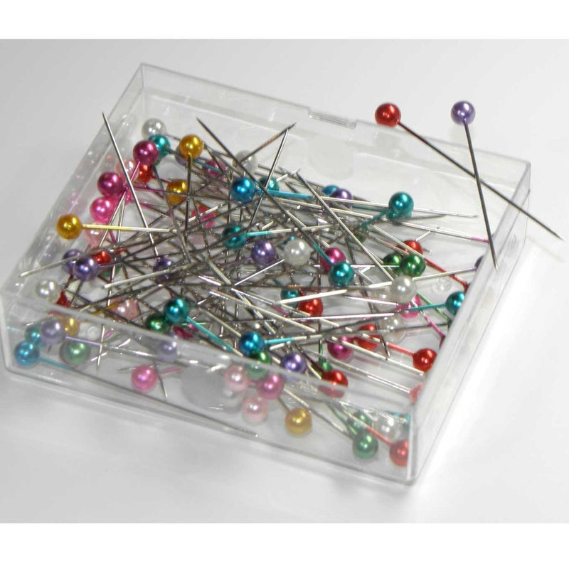 Pearl-Headed Pins | 10g Pack from Jaycotts Sewing Supplies