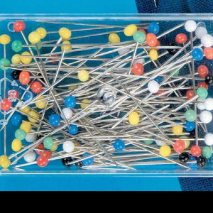 Large Glass-Headed Pins | 30g pack from Jaycotts Sewing Supplies