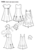 S1456 Girls' Dress with Bodice Variations & Hat