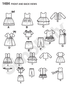 "S1484 18"" Doll Clothes"