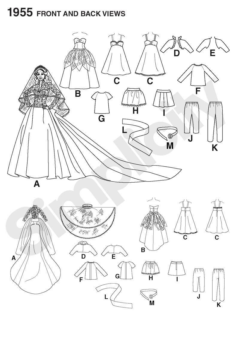 S1955 Doll Clothes