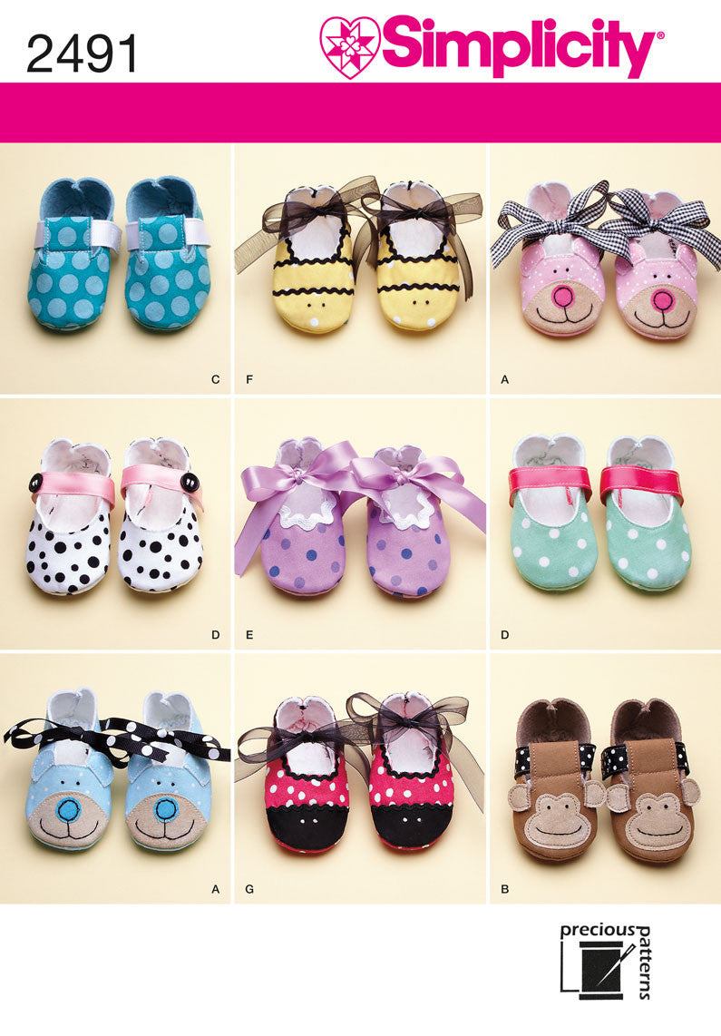 S2491 Baby Shoes