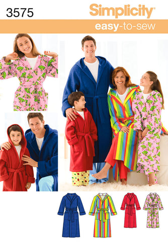 S3575 Sleepwear - Miss/Men/Child