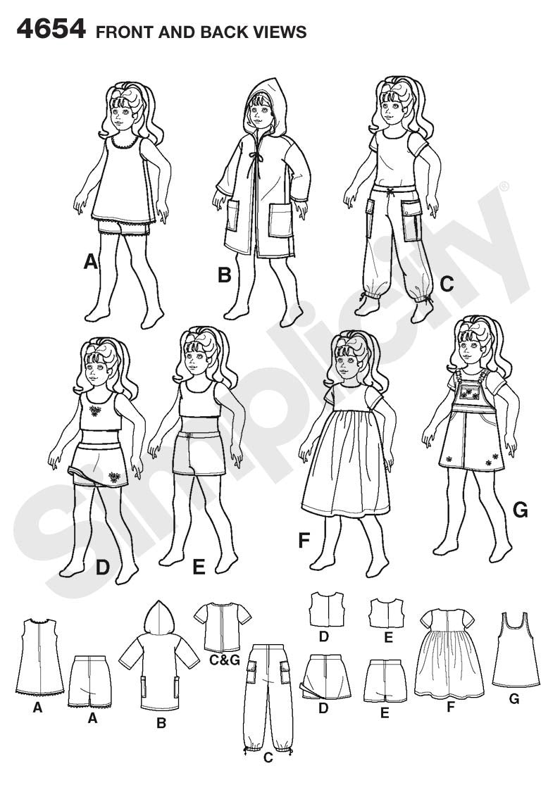 S4654 Doll Clothes
