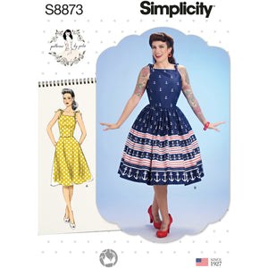 Simplicity 8873 Misses' Gertie Dress from Jaycotts Sewing Supplies