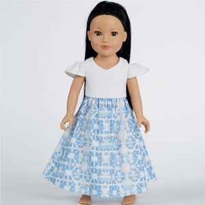Simplicity Pattern 8903 Dresses for 18inch (45.5cm) dolls.' from Jaycotts Sewing Supplies