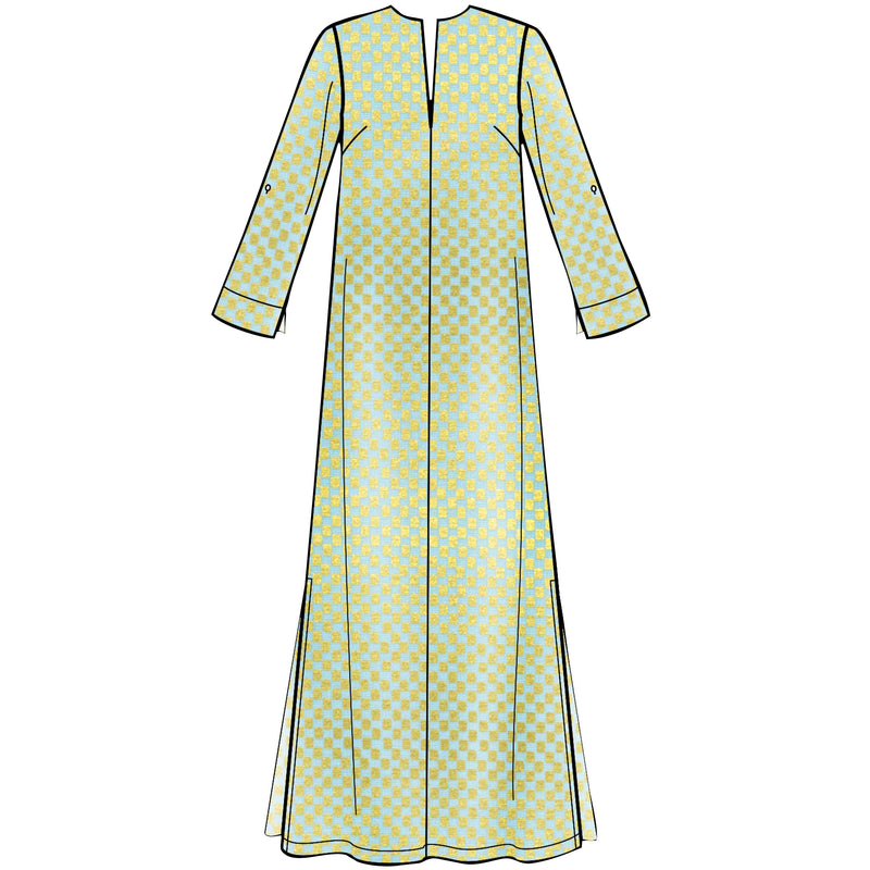 Simplicity Pattern 8912 Misses' slip-on maxi or short dresse from Jaycotts Sewing Supplies