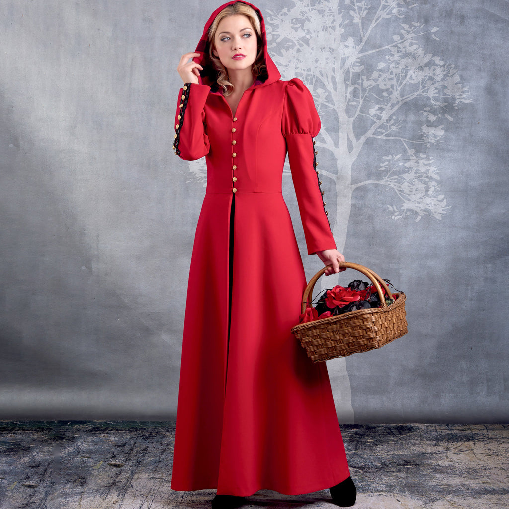 Simplicity 8974 Misses' Cosplay Coat Costume Pattern