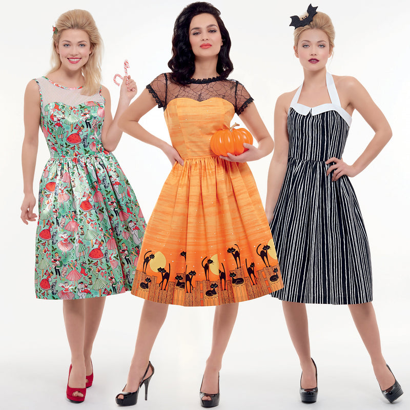 Simplicity 8979 Fifties style Halloween Costume Pattern