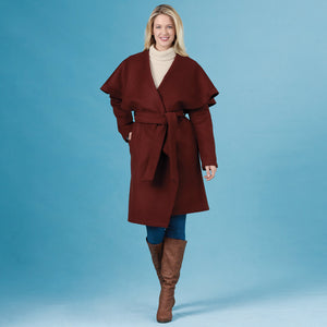 Simplicity Sewing Pattern 8990 Misses' Wrap Coats