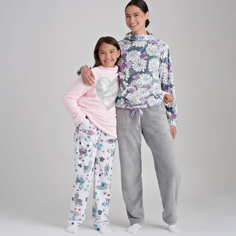 Simplicity Sewing Pattern 9019 Girls' and Misses' Loungewear from Jaycotts Sewing Supplies