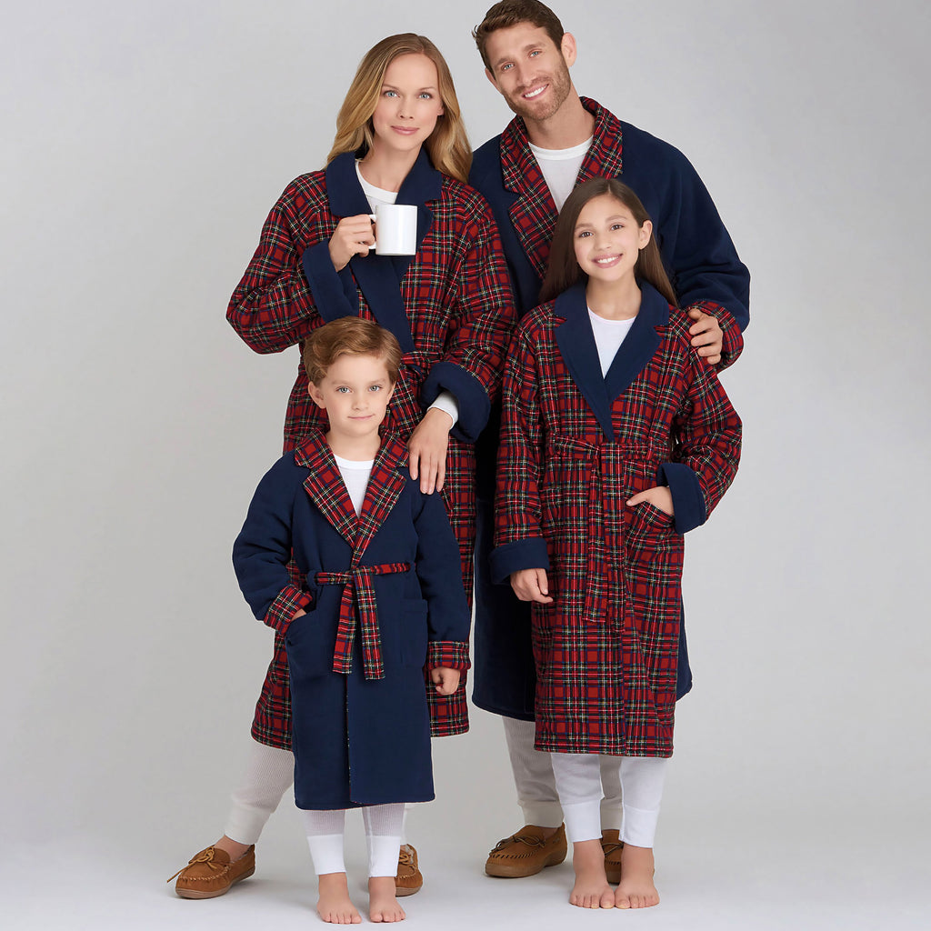Simplicity Sewing Pattern 9021 Children's, Teens', Adults' Robe
