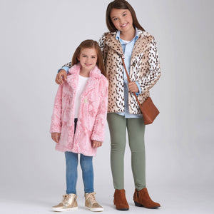 Simplicity Sewing Pattern 9027 Girls' Lined Coat