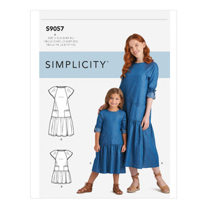 Simplicity Sewing Pattern S9057 Children's / Misses' Dresses