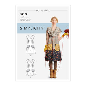 Simplicity Sewing Pattern S9122  Dresses from Jaycotts Sewing Supplies