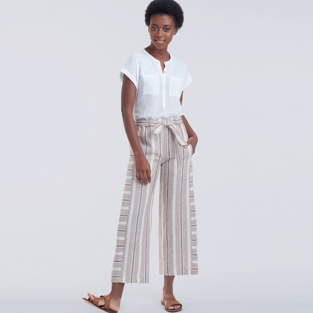 Simplicity 9146 Misses' relaxed trousers pattern
