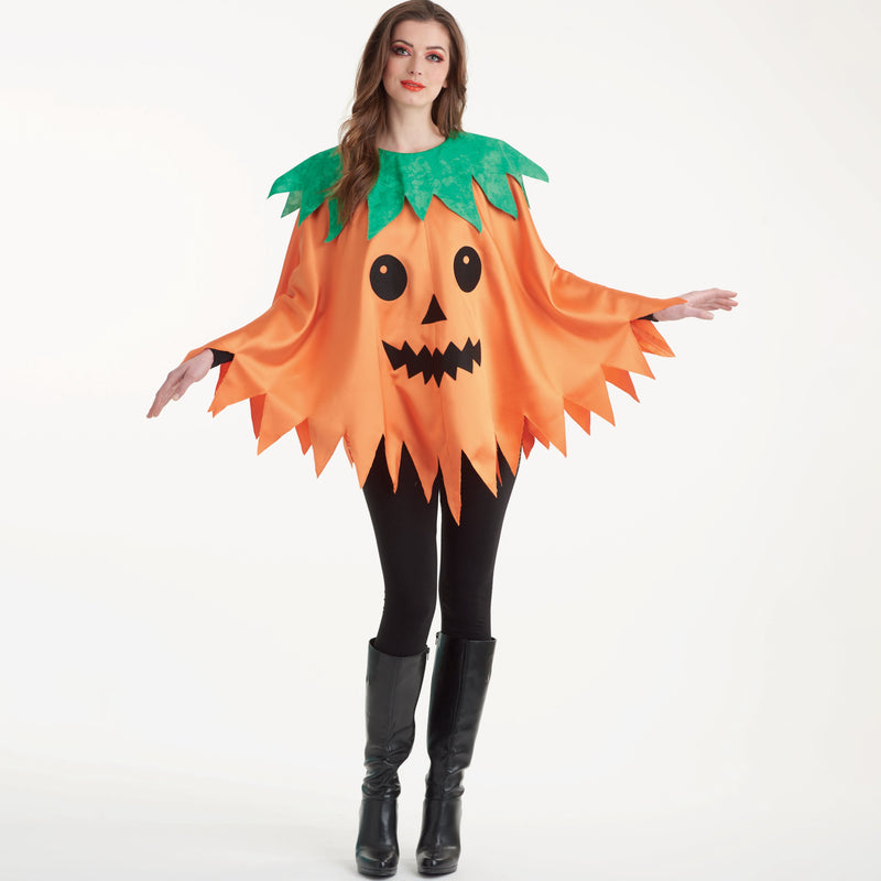 Simplicity 9169 Misses' Pumpkin Poncho Costumes from Jaycotts Sewing Supplies
