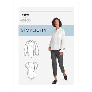 Simplicity 9177 Misses' Tops Sewing Pattern from Jaycotts Sewing Supplies