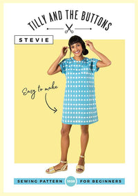 Tilly & The Buttons Stevie Pattern - New from Jaycotts Sewing Supplies