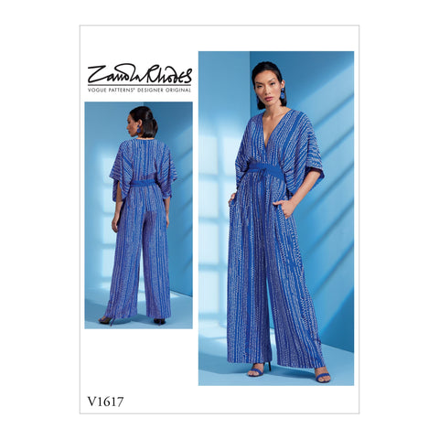Vogue Pattern V1617 Misses' Jumpsuit