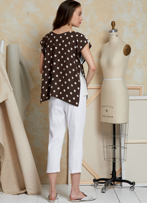 Vogue Pattern 1630 MISSES' TOP AND PANTS