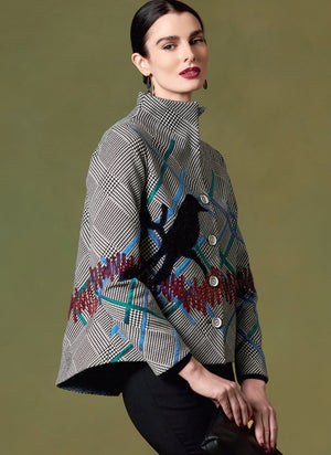 Vogue 1648 Misses' Jacket pattern | Julio Cesar from Jaycotts Sewing Supplies