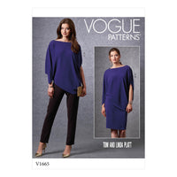 Vogue Sewing Pattern 1665 Casual wear | Tom and Linda Platt