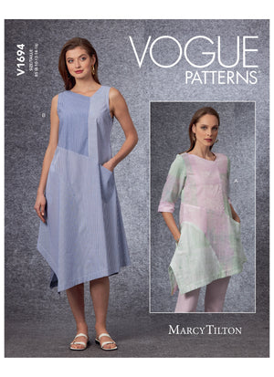 Vogue 1694 Tunic and Dress sewing pattern from Jaycotts Sewing Supplies