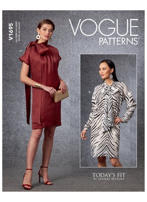Vogue 1695 Dress sewing pattern from Jaycotts Sewing Supplies