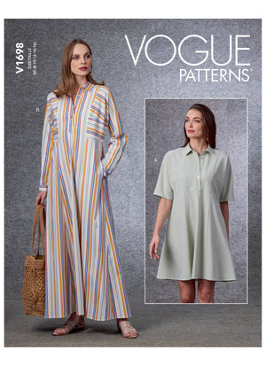 Vogue 1698 Dress sewing pattern from Jaycotts Sewing Supplies