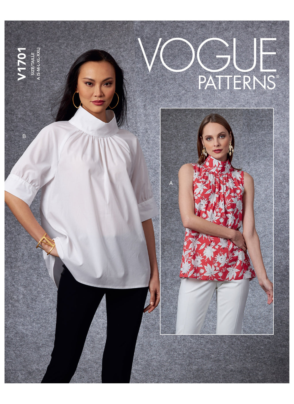 Vogue 1701 Top sewing pattern