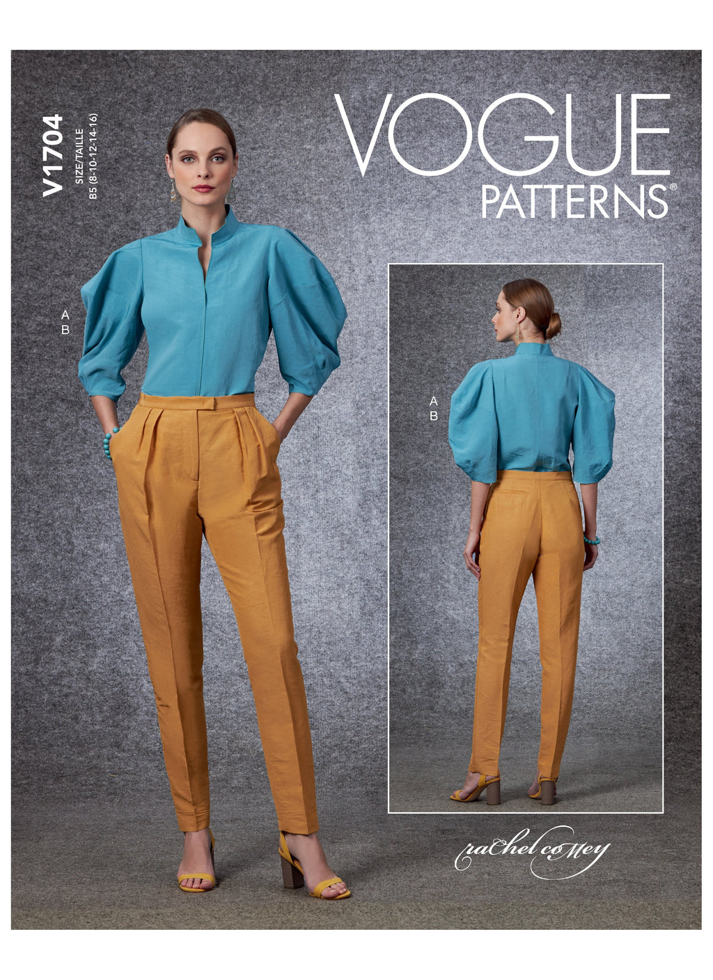 Vogue 1704 Top and Pants sewing pattern