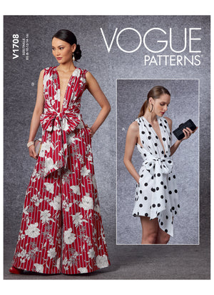 Vogue 1708 Jumpsuit sewing pattern from Jaycotts Sewing Supplies