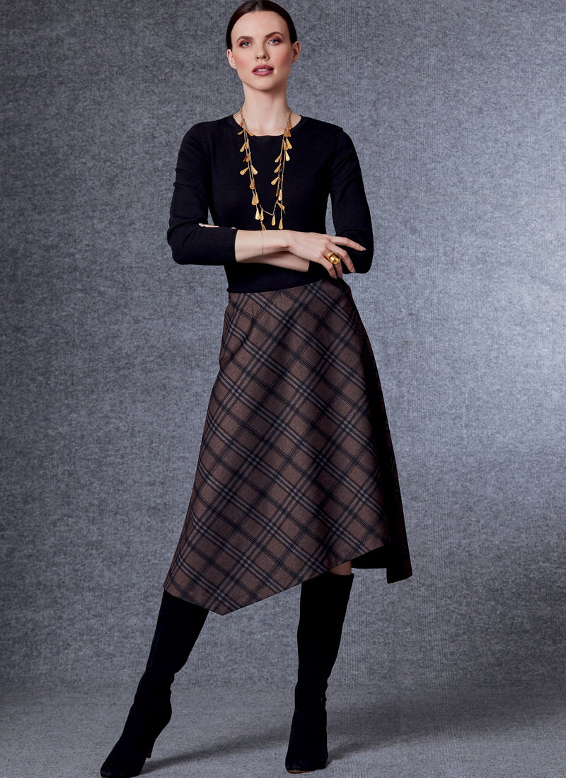 Vogue 1730 Skirt + Trousers pattern| Marcy Tilton from Jaycotts Sewing Supplies