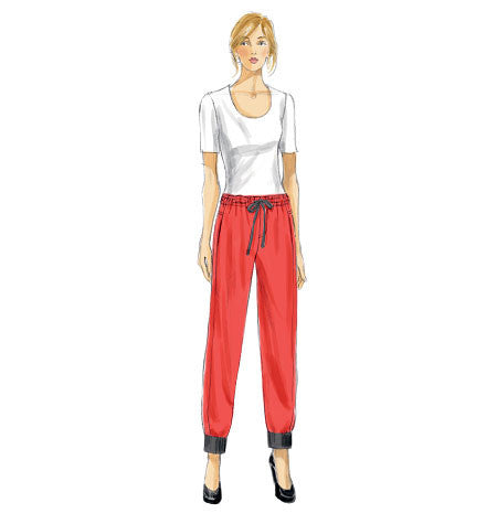 Vogue Pattern 8909 Misses' Pants | Very Easy from Jaycotts Sewing Supplies