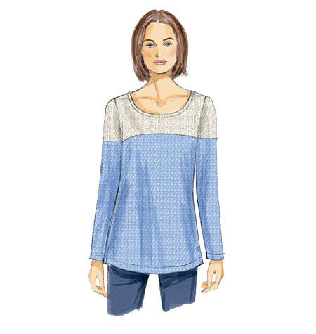 Vogue Pattern 8950  Misses' Tunic | Very Easy from Jaycotts Sewing Supplies