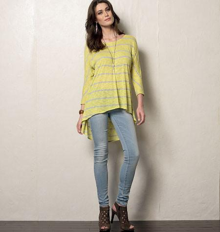 V8952 Misses' Tunic | Very Easy