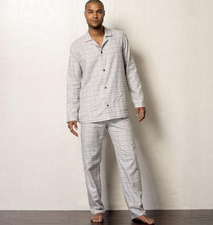 Vogue Pattern 8964 Men's Robe, Top, Shorts & Pants | Easy