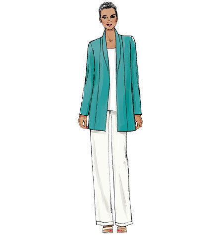 Vogue Pattern 9011  Loose-fitting, unlined jacket