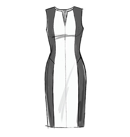 V9050 Misses'/Misses' Petite Dress | Easy